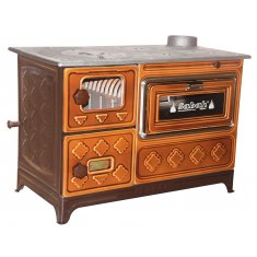 CAST IRON AND BRICK STOVES