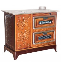 S07 BUCKET STOVE WITH TWIN OVEN