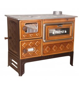 S11UC LUXURY CAST IRON STOVE TALL LEG WITH GLASS