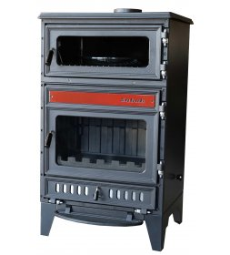 S107 CAST IRON FIREPLACE WITH COOKER