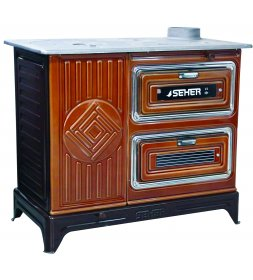 SH05  SEHER BUCKET STOVE WITH TWIN OVEN